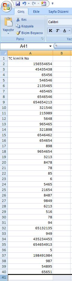 Excel Düşeyara Formülü Kullanımı -PERSONEL TABLOSU